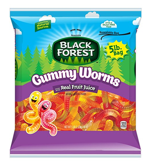 What Are the Best Gummy Worms? - My Top 5 Brands! | ZOMG ...