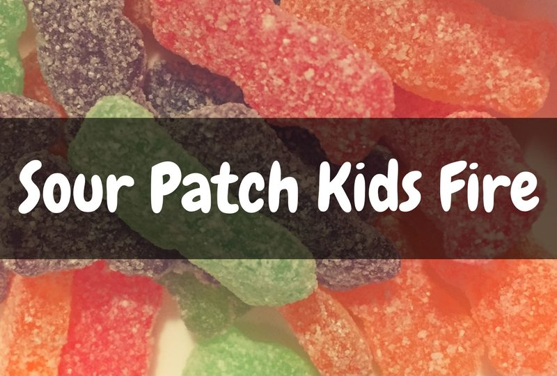 Sour Patch Kids Fire - Review