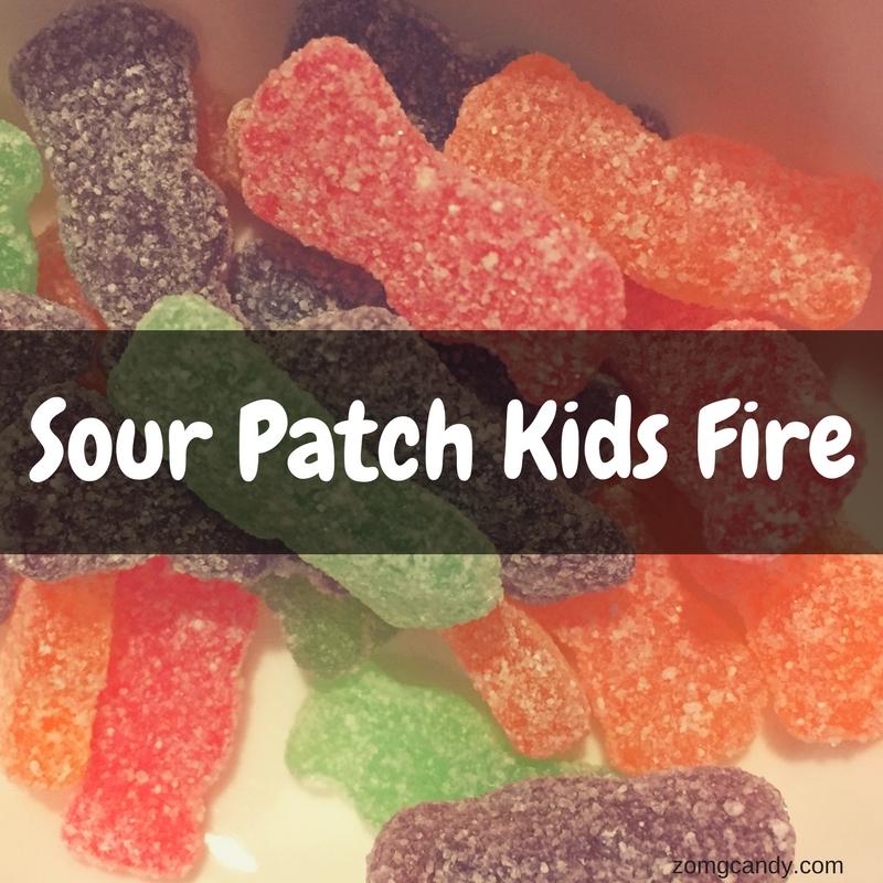 Sour Patch Kids Fire - Review