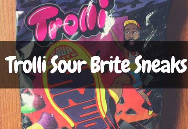 Trolli Sour Brite Sneaks - James Harden Candy