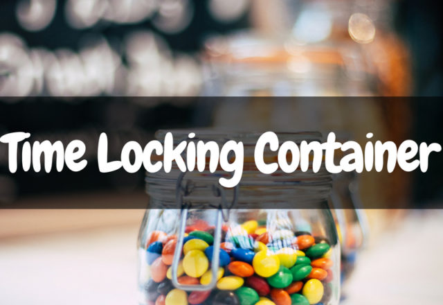Keep Your Sweet Tooth In Check With This Time Locking Container!