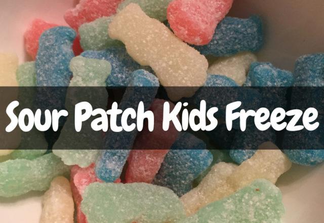 Sour Patch Kids Freeze - Review
