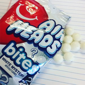 Airheads Bites White Mystery Flavor