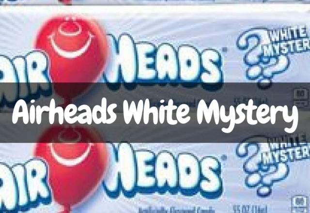 What is the Airheads White Mystery Flavor?