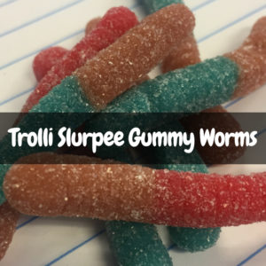 Trolli Slurpee Gummy Worms