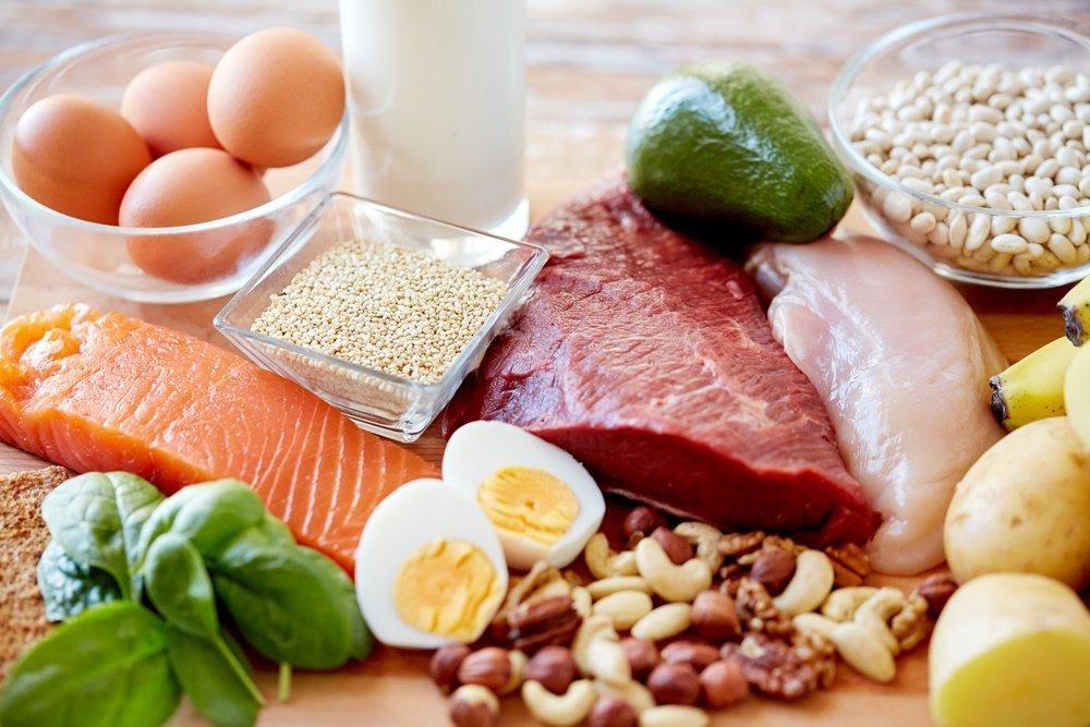 Rich in protein