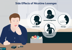 nicotine lozenges show up on a drug test