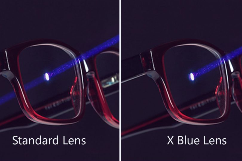 X-Blue-Lens