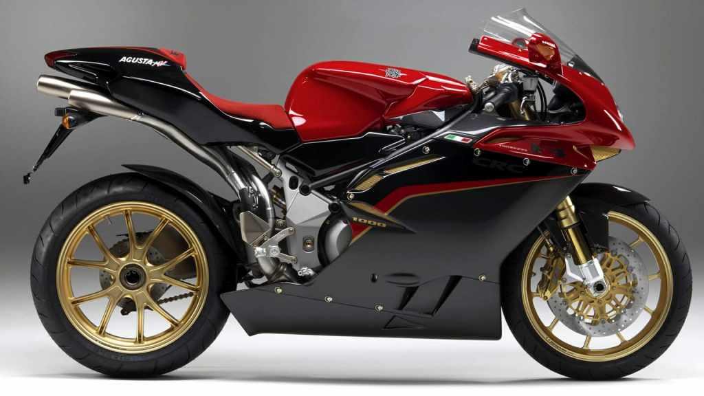 Mv Agusta F4 1000 - World's fastest bikes