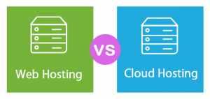 Hosting vs Shared Web Hosting