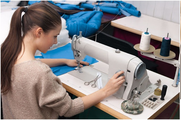 Pros of using a sewing machine-