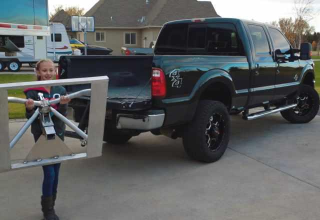 fifth Wheel trailer hitch