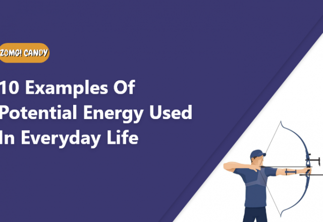 10 examples of potential energy used in everyday life